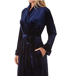 Lauren Ralph Lauren Sleepwear Velvet Long Shawl Collar Robe LN52025
