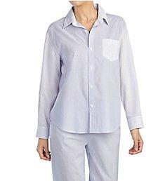 Lauren Ralph Lauren Sleepwear Country Gardens Long Sleeve Roll Tab PJ Set LN91580