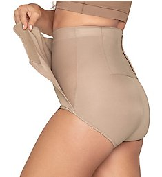 Leonisa High Waist Postpartum Belly Wrap Panty 012885