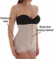 Leonisa Strapless Power Tummy Trimmer Compression Shaper 18472