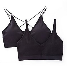 Lily Of France Seamless Comfort Fashion Bralette - 2 Pack 171941F