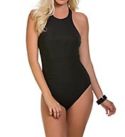 MagicSuit Solids Danika Strappy Back One Piece Swimsuit 6000190
