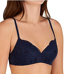 Maidenform Pure Comfort Lace Push-Up Wireless Bra DM7680