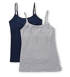 Maidenform Cotton Stretch Camisole - 2 Pack DMC008