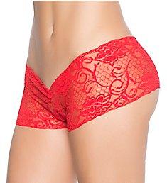 Mapale Peek-A-Boo Crotchless Boyshort Panty 98