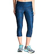 Moving Comfort Greenlight Printed Reversible Capri 220982S