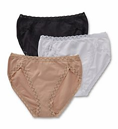 Natori Bliss French Cut Panties - 3 Pack 152058P