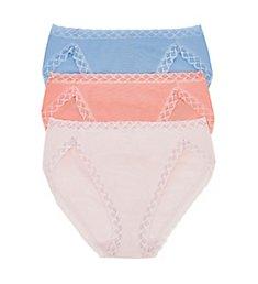 Natori as3970Bliss French Cut Panties - 3 Pack 152058P