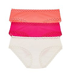 Natori Bliss Girl Brief Panties - 3 Pack 156058P
