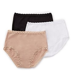 Natori Bliss Full Brief Panty - 3 Pack 755058P