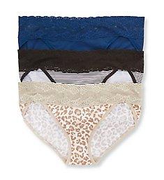 Natori Bliss One Size V-Kini Panty - 3 Pack 756092P