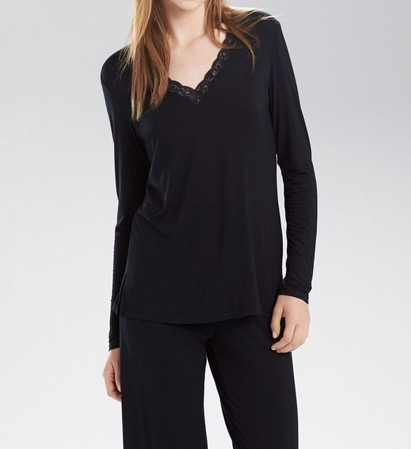 Natori Feathers Long Sleeve PJ Set B76129