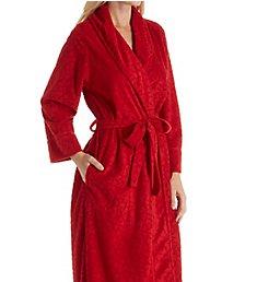 Natori Trance Velvet Jacquard Long Robe D74060
