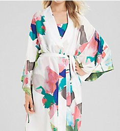 Natori Water Lily Wrap Robe D74156