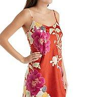 Natori Auburn Floral Slip Gown D78008