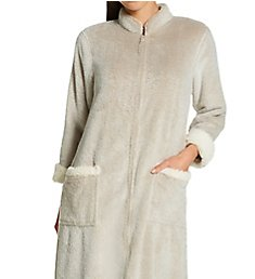 Natori Frosted Sherpa Zip Lounger H70032