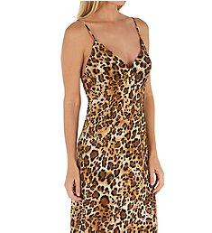 Natori Cheetah Long Gown L73011