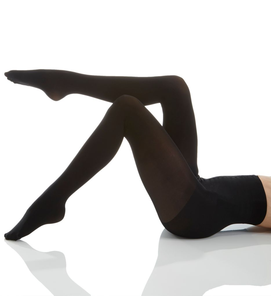 Natori Velvet Touch Opaque Control Top Tights NAT-313