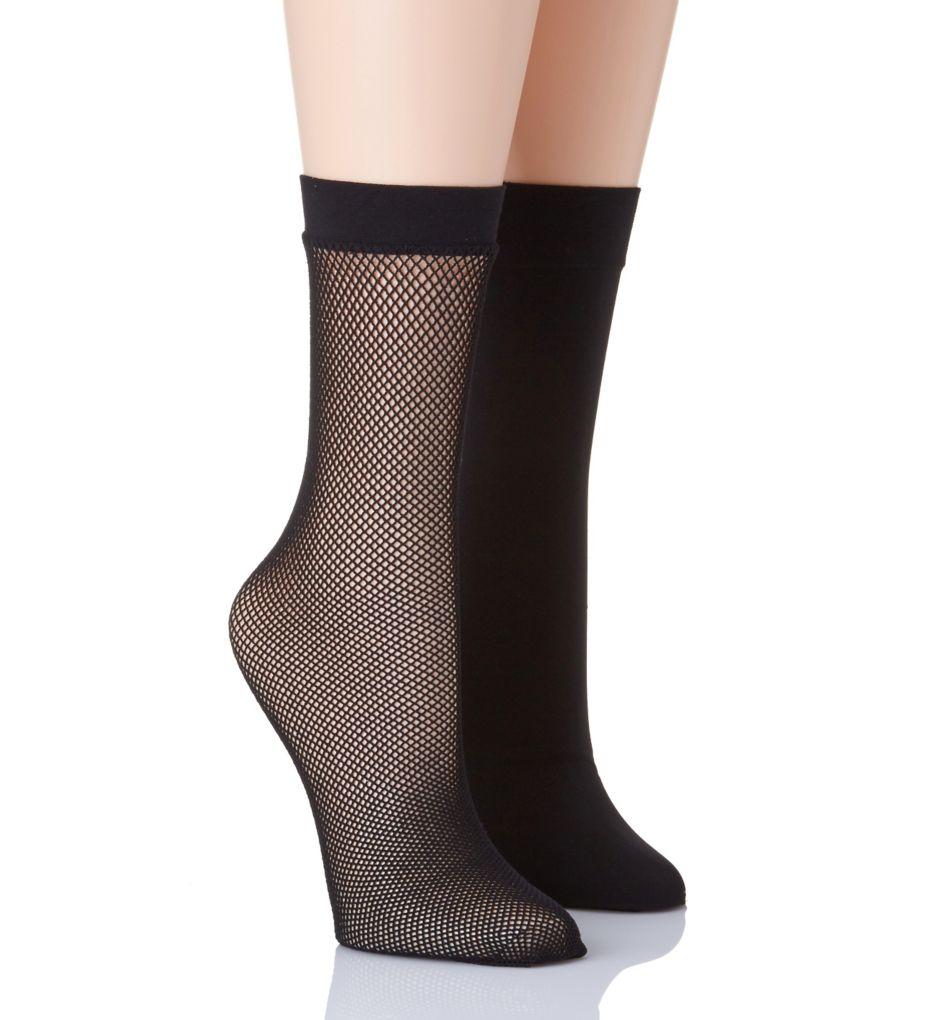 Natori Net Trouser Socks - 2 Pack NAT-756