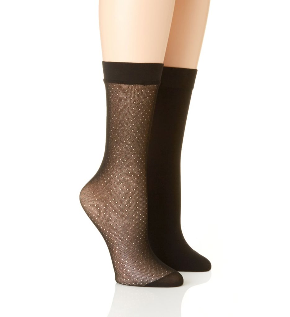 Natori Trouser Socks - 2 Pack NAT-758
