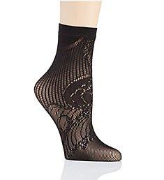 Natori Plume Lace Net Crew Sock NCF0224