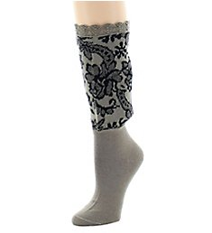 Natori Damask Crew Boot Topper NTF-560