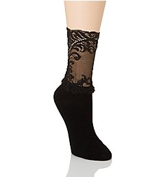 Natori Feathers Anklet Sock NTS-655
