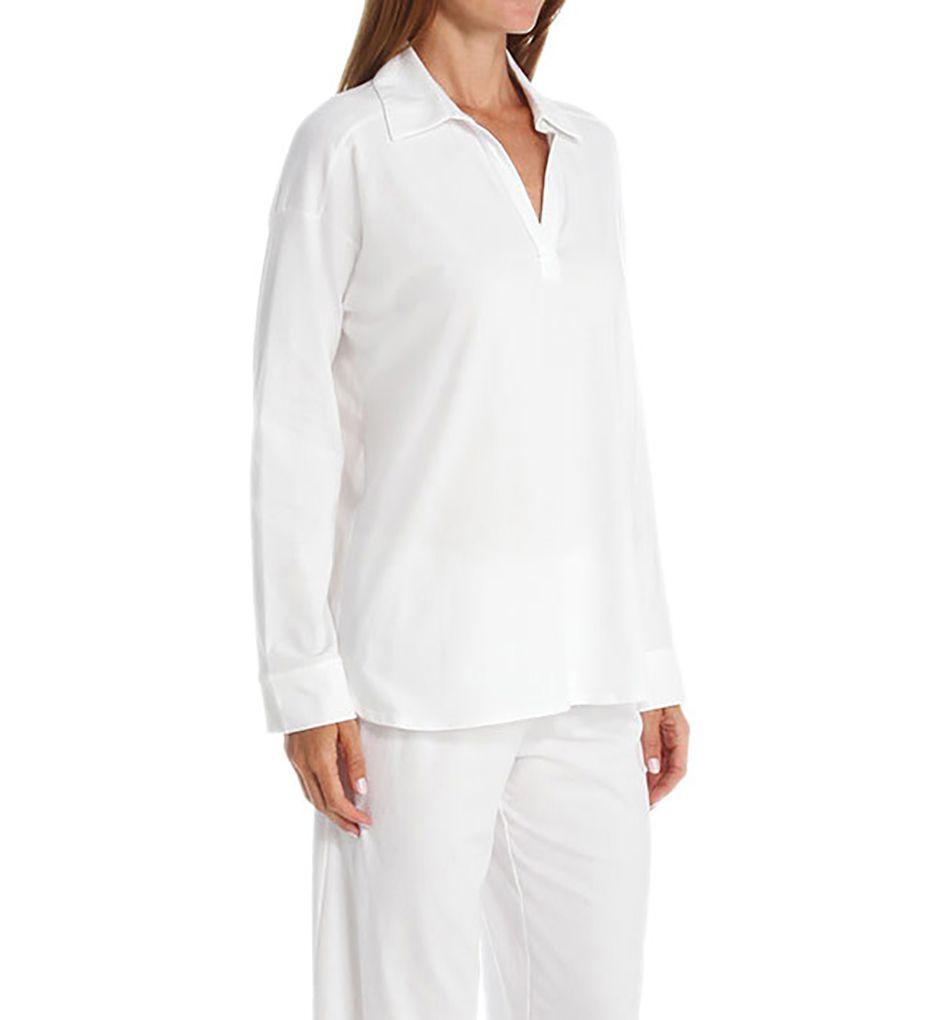 Natori Pima Paradise Cotton Longsleeve Pajama Set Z76453