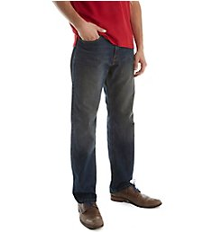 Nautica Rigger Medium Wash 32 Inch Relaxed Fit Jeans 1P3013
