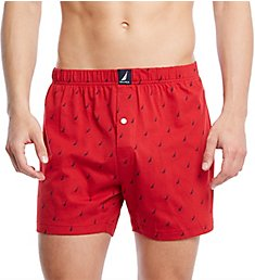 Nautica 100% Cotton Knit Boxer H60107