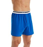 Nautica 100% Cotton Loose Knit Solid Boxer H70107