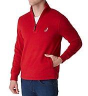 Nautica Fleece Long Sleeve 1/4 Zip Pullover k73172