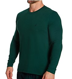 Nautica Suede Jersey Long Sleeve T-Shirt KL80F0