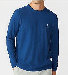 Nautica Suede Jersey Long Sleeve Pajama T-Shirt KL80F0