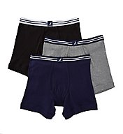 Nautica 100% Cotton Boxer Briefs - 3 Pack N60304