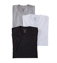Nautica 100% Cotton Crew Neck T-Shirts - 3 Pack N60305