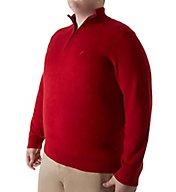Nautica Big Man Pima Cotton 1/4 Zip Sweater N63604