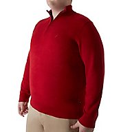 Nautica Tall Man Pima Cotton 1/4 Zip Sweater N63604T