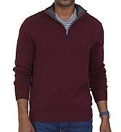 Nautica Big Man Pima Cotton 1/4 Zip Sweater N73105