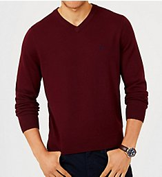 Nautica Big Man Jersey Cotton V-Neck Sweater N83100