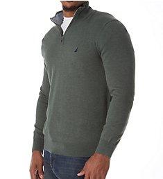 Nautica Big Man Cotton 1/4 Zip Sweater N83104