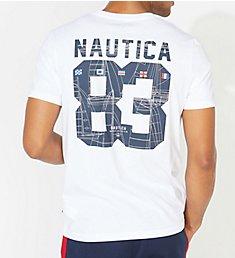 Nautica Big Man Big 83 Crew Neck T-Shirt Q01110