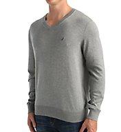 Nautica Cotton Modal V-Neck Sweater S53700