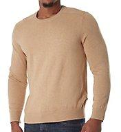 Nautica Solid 100% Cotton Crew Sweater S53705