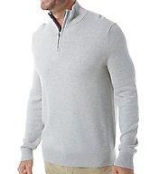 Nautica Pima Cotton 1/4 Zip Sweater S63614