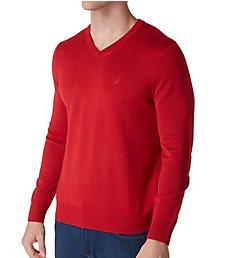 Nautica Cotton V-Neck Sweater S73100