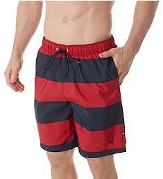 Nautica Striped Swim Trunk T71634