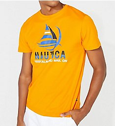 Nautica Keep Calm Cotton Crew Neck T-Shirt V01106
