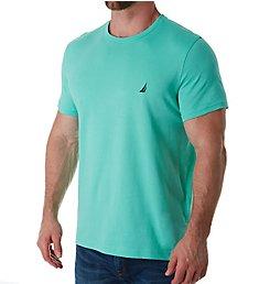 Nautica Solid Crew Neck Short Sleeve T-Shirt V61704