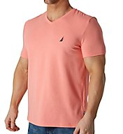 Nautica Short Sleeve Fashion V-Neck T-Shirt V71005